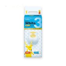 妮飘(Nepia)Whito 3小时日用纸尿裤 M码 52片日本进口