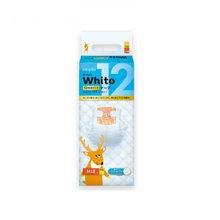 妮飘(Nepia)Whito12小时夜用纸尿裤M码48片 日本进口