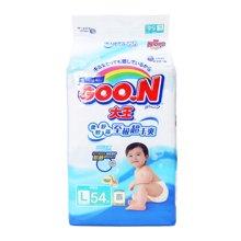GOO.N(大王)環貼式紙尿褲E系列L號 NC3 YT1(54片)