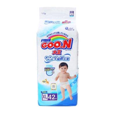 GOO.N(大王)环贴式纸尿裤E系列XL号 NC1(42片)