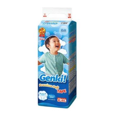 妮飄 Genki 寶寶紙尿褲 XL碼44片 新包裝日本進口