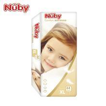 努比(Nuby) 嬰兒紙尿褲 寶寶尿不濕 新生兒尿布濕 鉑金裝 超薄紙尿片 M號 XL號 L號尿褲 鉑金裝-XL碼(12-17kg寶寶)44片*單包