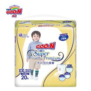 GOO.N®大王 短裤式纸尿裤光羽系列(XXL20片)