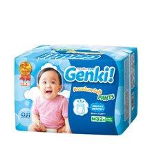 妮飘 Genki 宝宝拉拉裤 M码32片 小内裤 日本进口
