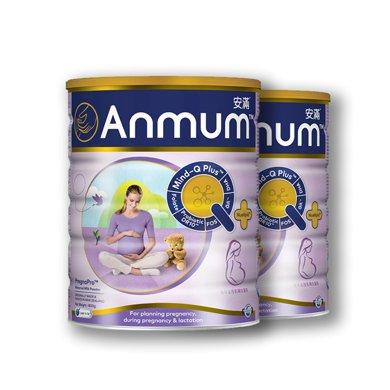 2罐*新西蘭安滿孕婦奶粉滿悅孕婦奶粉(港版)800g【香港直郵】