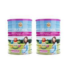 【2罐】澳洲 Oz Farm澳美滋 产前孕期哺乳怀孕期孕妇奶粉 含DHA叶酸 900g/罐