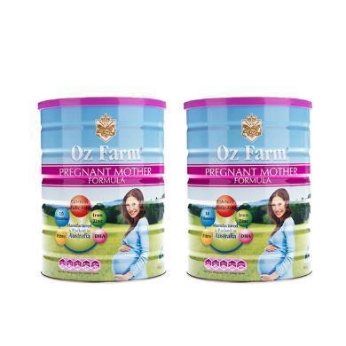 【2罐】澳洲 Oz Farm澳美滋 產前孕期哺乳懷孕期孕婦奶粉 含DHA葉酸 900g/罐