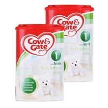 【2罐装】英国牛栏Cow&Gate奶粉1段900g*2