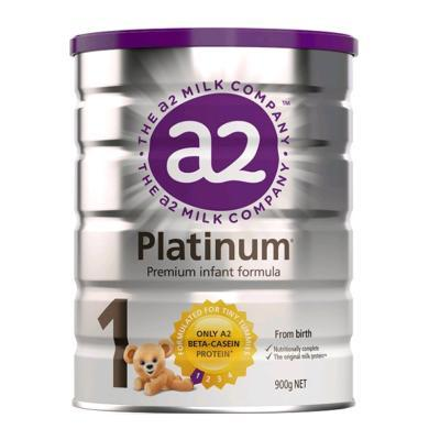 【澳洲】a2 Platinum 白金版1段婴幼儿奶粉(0-6个月)900g