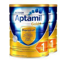 【2罐】澳洲Aptamil爱他美金装1段奶粉(0-6个月)900g