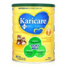 【支持购物卡】【3罐装】澳洲Karicare可瑞康羊奶粉1段(0-6个月) 900g/罐*3(澳洲直邮)