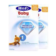 【2盒装】荷兰美素Hero Baby婴幼儿奶粉 1段(0-6个月)800g
