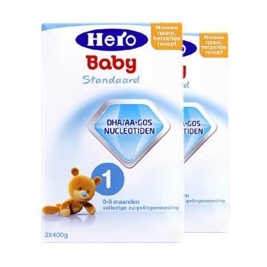 【2盒裝】荷蘭美素Hero Baby嬰幼兒奶粉 1段(0-6個月)800g