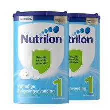【2罐装】荷兰Nutrilon牛栏婴幼儿奶粉 1段(0-6个月)800g