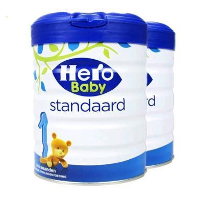 【2罐装】荷兰美素Hero Baby白金版婴幼儿奶粉 1段(0-6个月)800g
