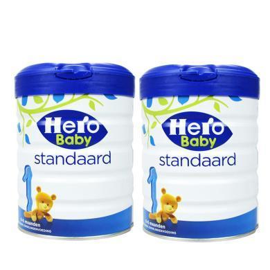 【2罐】荷兰 Hero Baby 天赋力奶粉白金版1段(0-6个月)800g/罐