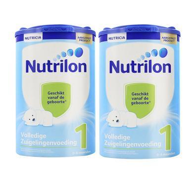 【2罐】荷蘭Nutrilon牛欄奶粉1段 (0-6個月寶寶)800g/罐