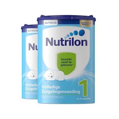 2罐*荷蘭牛欄Nutrilon 嬰幼兒配方奶粉1段(0-6個月)  800g/罐