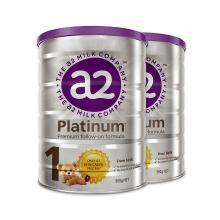 2罐*澳洲新西兰A2a2 白金版奶粉1段(0~6个月) 900g