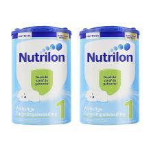【支持购物卡】2罐*荷兰牛栏奶粉1段800g0-6月  (荷兰直邮)