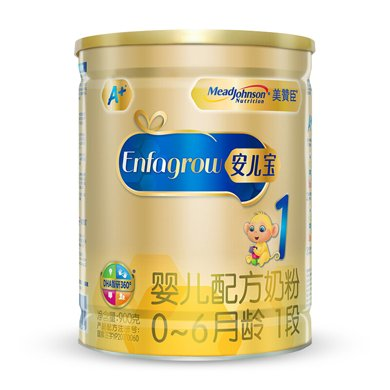 美贊臣安兒寶嬰兒配方奶粉(0-6.1段)罐裝(900g)(900g)(900g)