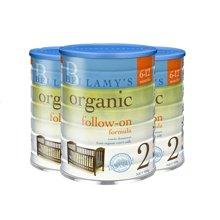 【澳洲空运直邮】澳洲婴儿奶粉贝拉米2段奶粉 900g*3罐装