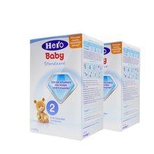 【2盒装】荷兰Hero baby奶粉2段(6-10个月宝宝)800g/盒