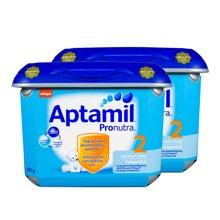 【2罐装】德国Aptamil 爱他美奶粉2段 安心罐 (6-10个月)800g