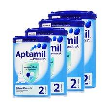 4罐*英國愛他美2段Aptamil二段6-12月嬰幼兒奶粉800g【英國空運直郵】