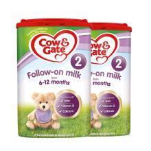 【2罐】英国Cow&Gate牛栏婴幼儿奶粉 2段(6-12个月)800g