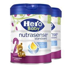 【2罐装】荷兰美素Hero Baby白金版婴幼儿奶粉 2段(6-12个月)800g