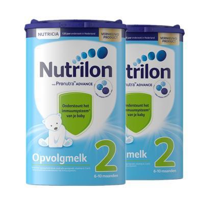 【2罐裝】荷蘭Nutrilon牛欄嬰幼兒奶粉 2段(6-10個月)800g