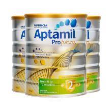 3罐*澳大利亚爱他美 白金版2段奶粉(6-12个月)900g/罐 澳洲直邮