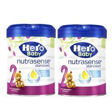 【2罐】荷兰Hero Baby 天赋力奶粉白金版2段(6-12个月)800g/罐