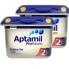 【2罐】英国爱他美Aptamil白金版 2段 6-12个月 奶粉800g/罐