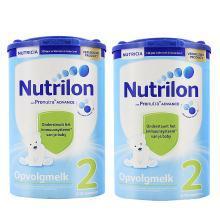 【2罐】荷兰牛栏Nutrilon奶粉2段(6-10个月宝宝)  800g/罐(新旧包装随机发)