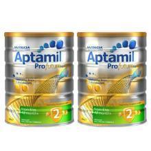 【2罐】新西蘭愛他美奶粉Aptamil白金版2段(6-12個月)900g/罐