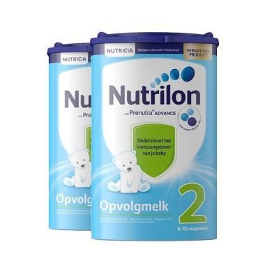 2罐*荷兰牛栏Nutrilon 婴幼儿配方奶粉2段(6-10个月)850g/罐
