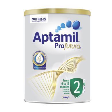 【支持購物卡】【2罐裝 澳洲直郵】澳洲Aptamil pro愛他美白金版牛奶粉2段(6-12個月)900g/罐(新舊版本隨機發貨)