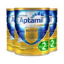 【支持購物卡】3罐*澳大利亞 A2 奶粉 金裝 1段 6-12個月 900g/罐