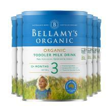 【澳洲空运直邮】澳洲婴儿奶粉贝拉米3段奶粉新包装 (适合1-3岁宝宝)900g*6罐装
