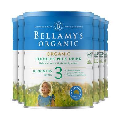 6罐*澳洲嬰兒奶粉貝拉米3段 適合1-3歲 寶寶 900g【澳洲空運直郵】