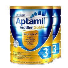 【2罐】澳洲Aptamil爱他美金装3段奶粉(1-2岁)900g
