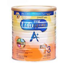 港版Meadjohnson美赞臣3段安儿宝A+婴儿幼儿(1-3岁)奶粉900g