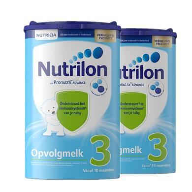 【2罐裝】荷蘭Nutrilon牛欄嬰幼兒奶粉 3段(10個月以上)800g