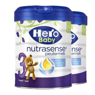 【2罐装】荷兰美素Hero Baby白金版婴幼儿奶粉 3段(1-2岁)700g