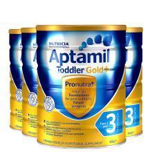 【4罐】澳洲Aptamil爱他美金装3段奶粉(1-2岁)900g