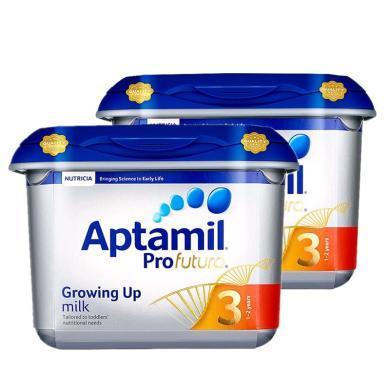 【2罐装】英国Aptamil爱他美白金版婴幼儿奶粉 3段(1-2岁)800g