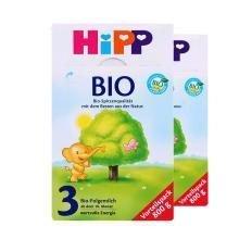 【2盒】德国HiPP喜宝有机婴幼儿奶粉 3段(10-12个月)800g