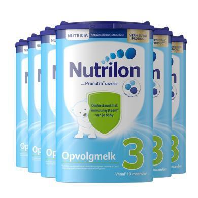 【6罐裝】荷蘭Nutrilon牛欄嬰幼兒奶粉 3段(10個月以上)800g